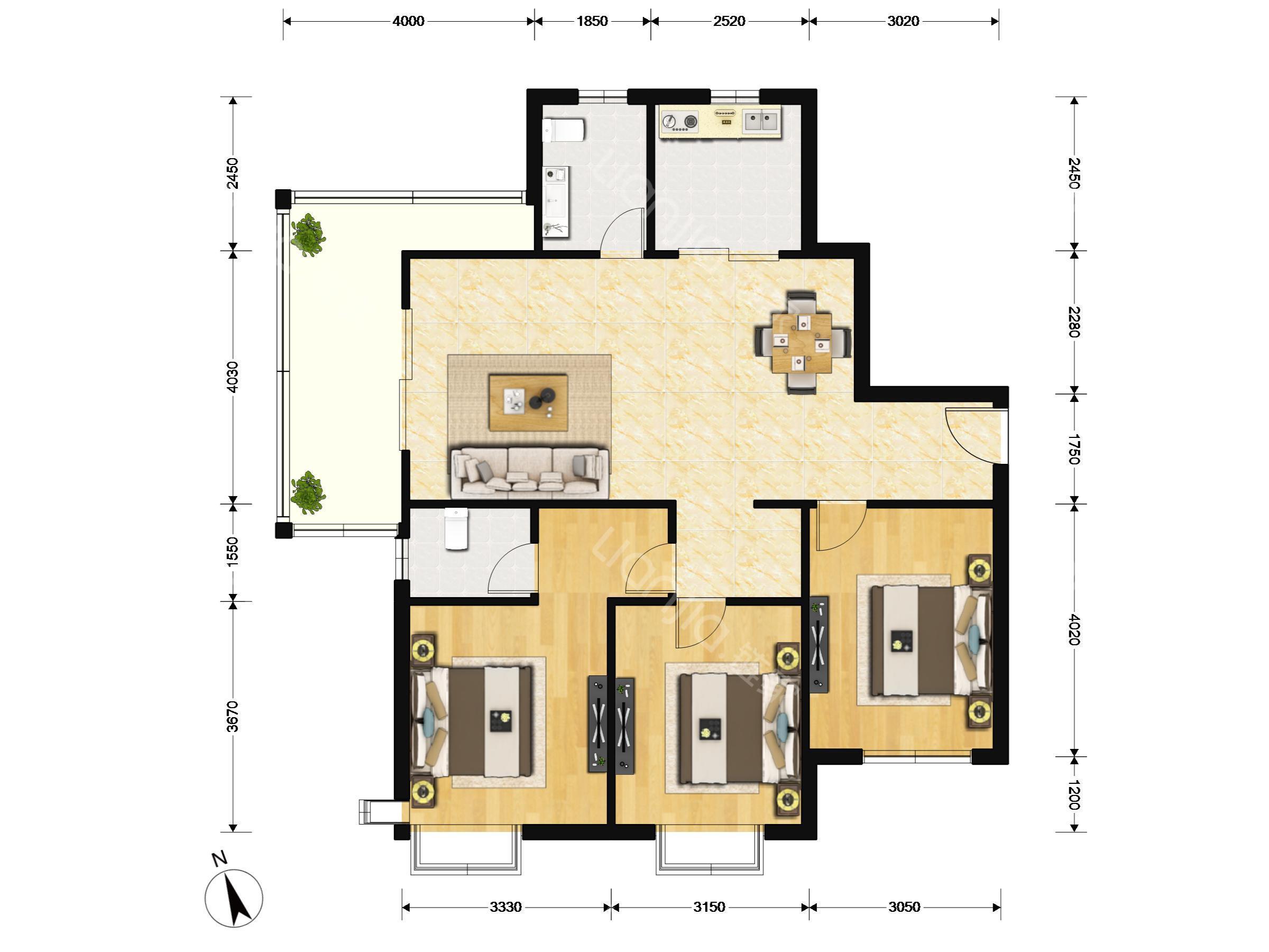嘉城桃花岛(公寓),人气房源,光线充足,看房有钥匙