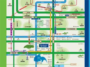 朗诗未来街区区位图