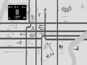 上海院子区位图