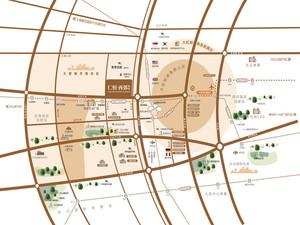 仁恒西郊花园区位图
