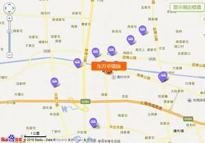东方华璟园区位图