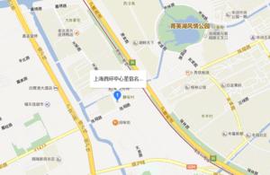 上海西环中心星信名邸区位图