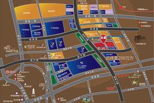 佳兆业城市广场区位图