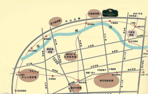 香溢花城区位图