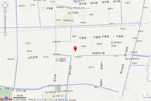 绿城上海诚园区位图