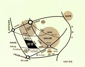 万源城御璄区位图