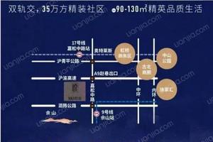国贸天悦佘山(二期)区位图