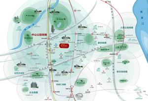 中山学林苑区位图