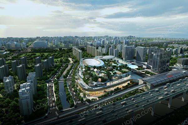 上海西环中心星信名邸效果图